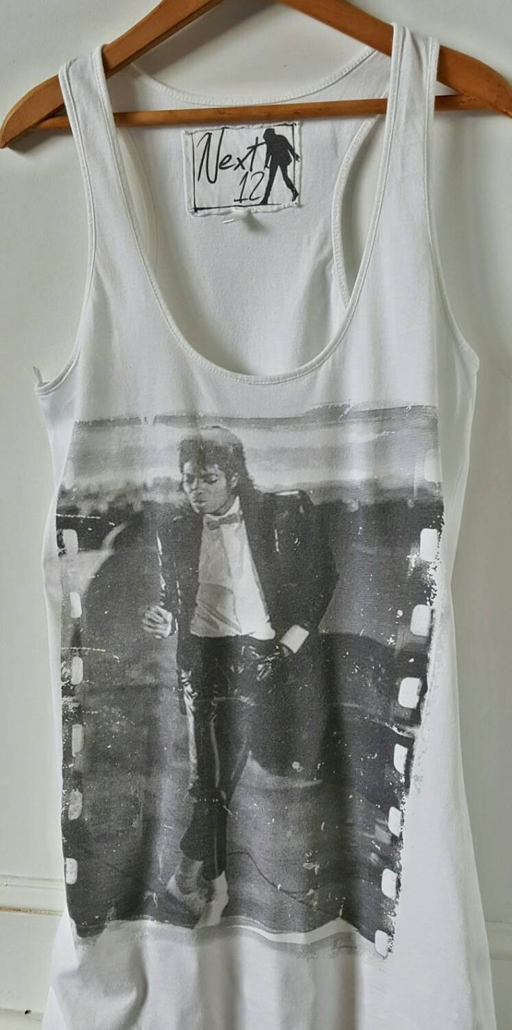 Michael Jackson Shirt, Michael Jackson T Shirt Oversized Tank by ResouledGypsy on Etsy