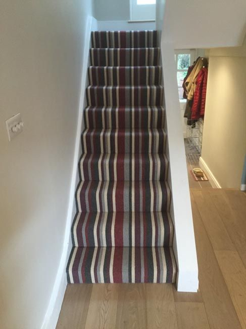 The 25 Best Striped Carpet For Stairs Ideas On Pinterest