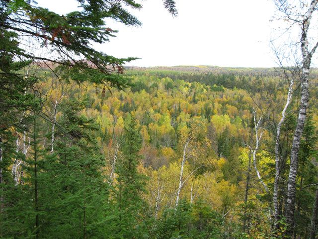 Lookout Mountain, Finland MN.    Why yes, I did live on this mountain :D & it was awesome!