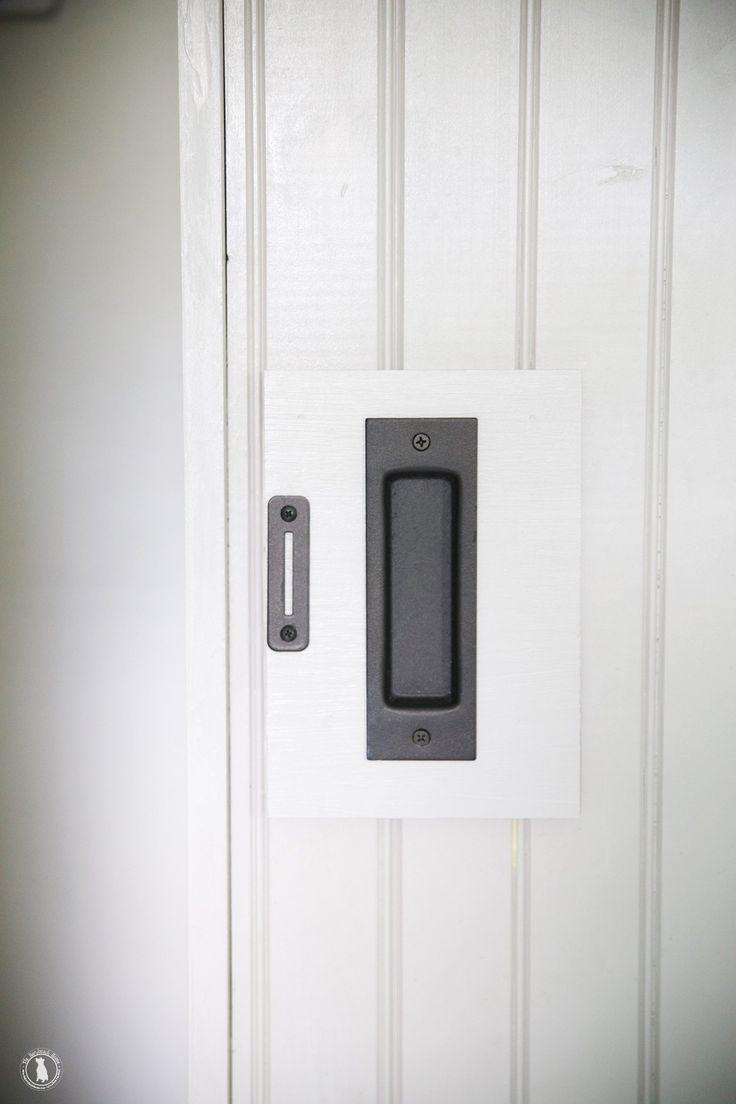 25 best ideas about barn door locks on pinterest door - Bathroom door that fogs up when locked ...