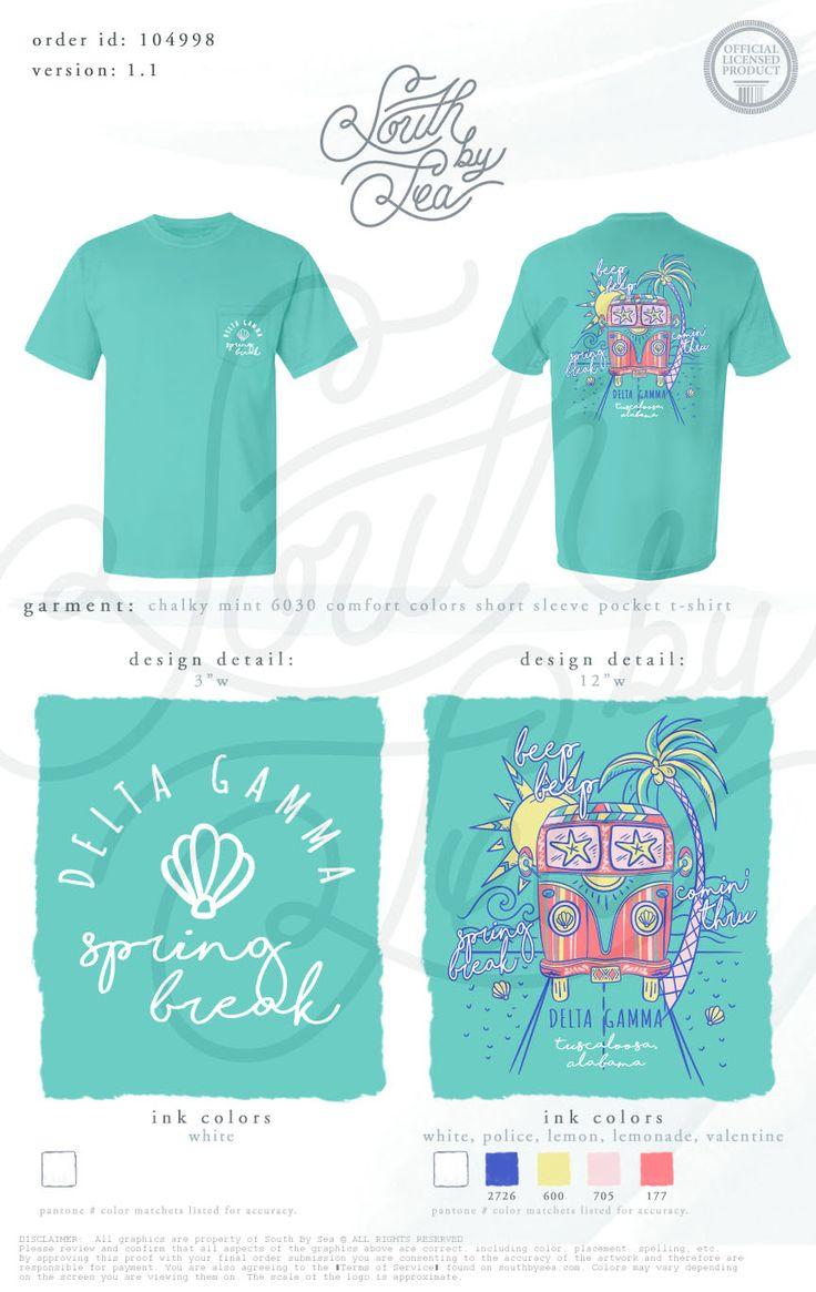 98 best delta gamma images on pinterest tee shirts for Custom sorority t shirts