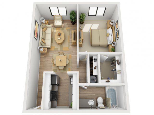 1 Bed / 1 Bath Apartment in Beaverton OR | Village 185