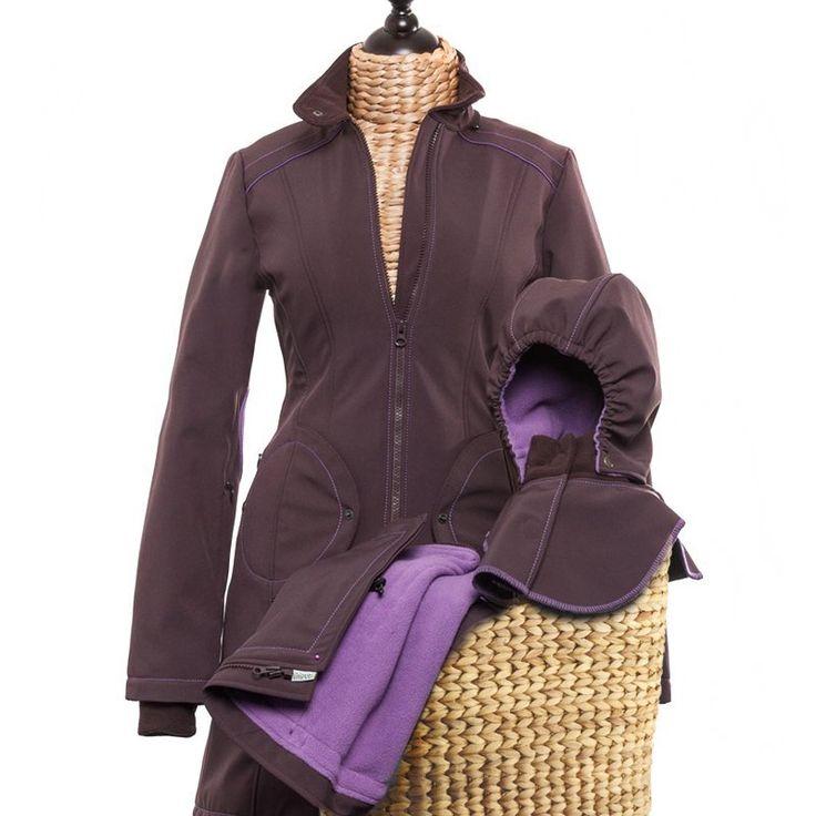 Liliputi® Winter Mama Set - Lavendering #babywearing #babywearingwinter #babywearing mamacoat #pregnancycoat #pregnancy