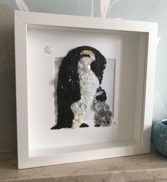 The Penguin Hand Made Gift Card Ideal for framing