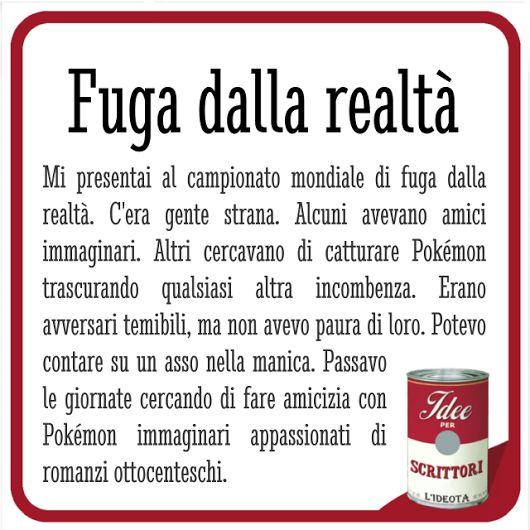 Campionato mondiale di fuga dalle realtà.