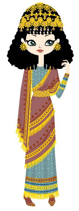 Assursarrat, the assyrian queen by marasop.deviantart.com on @DeviantArt
