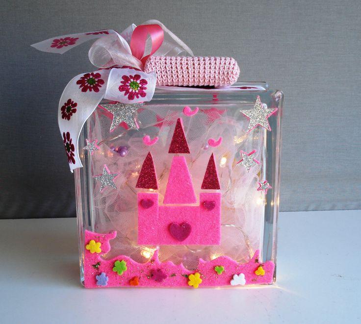 Glass block princess