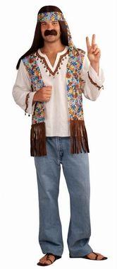 Men's Groovy Hippie Costume Set