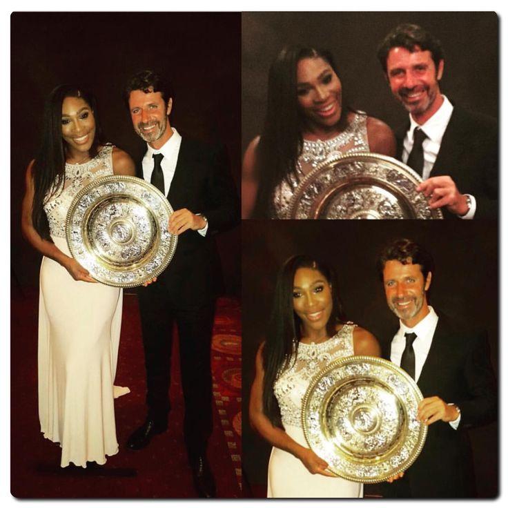 Serena Williams and Patrick Mouratoglou ❤️❤️ ✨