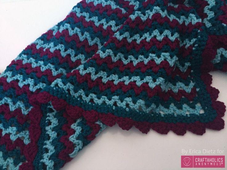 Craftaholics Anonymous® | Easy Crochet Baby Blanket