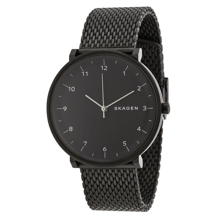 Skagen Hald Black Dial Black PVD Stainless Steel Men's Watch SKW6171 - Hald - Skagen - Shop Watches by Brand - Jomashop