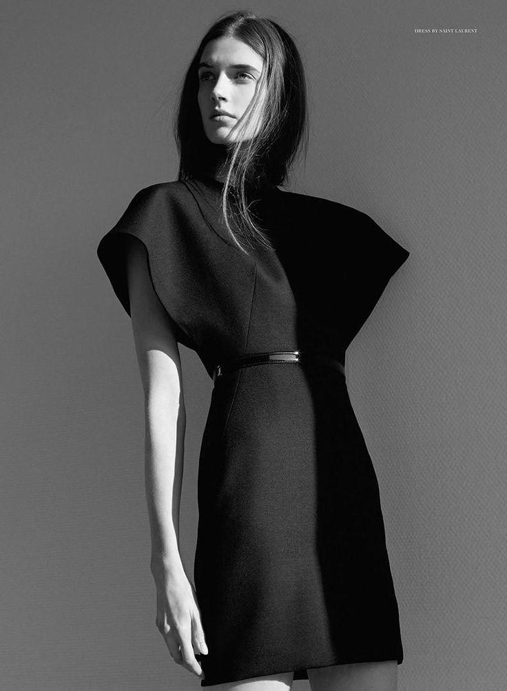 Bauhaus (The Room).  Spring/Summer 2014.  Thomas Lohr - Photographer.   Ali Toth - Fashion Editor/Stylist.   Aniko Virag - Fashion Editor/Stylist.   Adam Szabo - Hair Stylist.   Josephine Van Delden - Model.