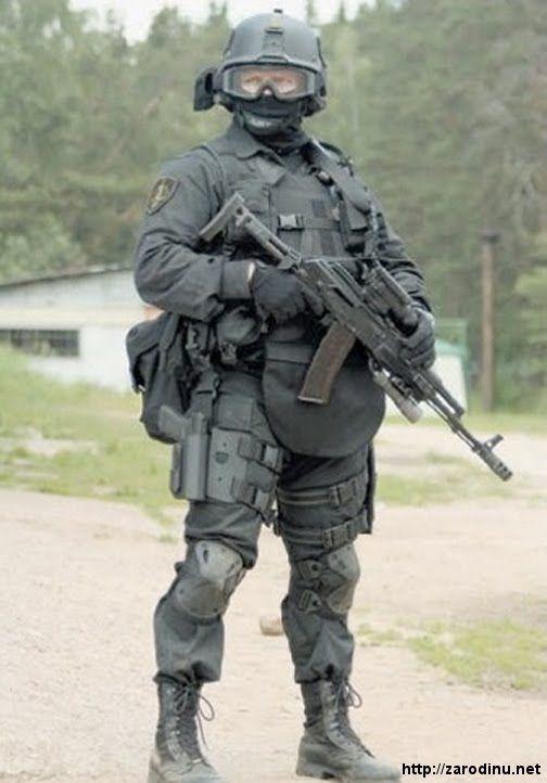 Russian Spetsnaz FSB/ФСБ (Alpha Group)