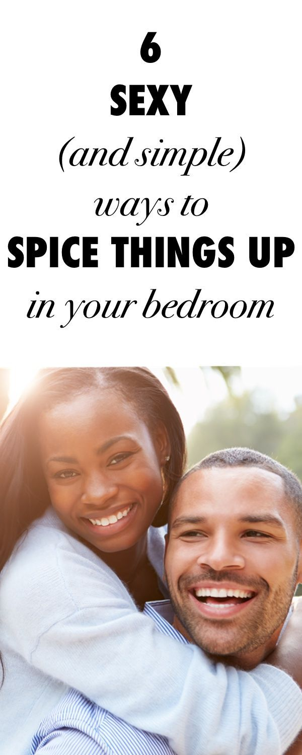 Spicing up the bedroom