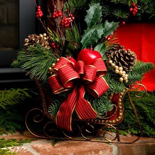 santa's sleigh table centerpieces - Bing Images