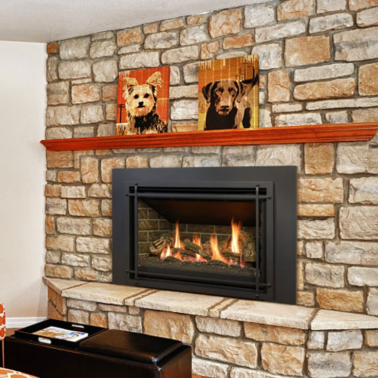 Tired of coming home to the inconvenience of a wood burning fireplace? Let the Kozy Heat Chaska 335S gas insert solve your  problems.