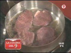 Ariel Rodriguez Palacios - La Cocina del 9 - 22/06/10 - Lomo a la Pimienta con Papas a la Crema Parte 1 de 2