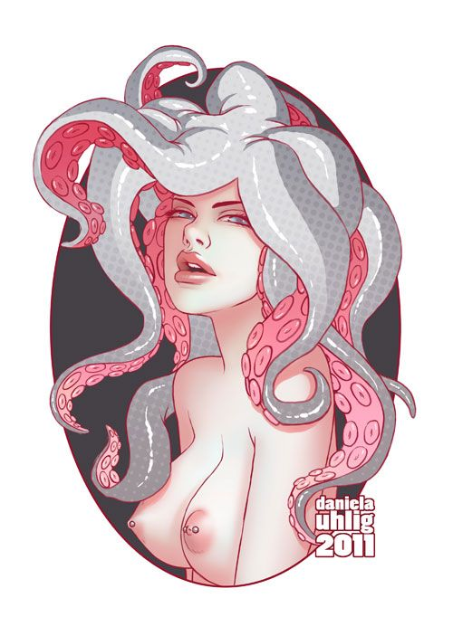 Some More Tentacles by Daniela Uhlig
