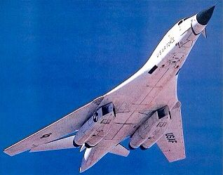 Rockwell International B-1 Lancer.