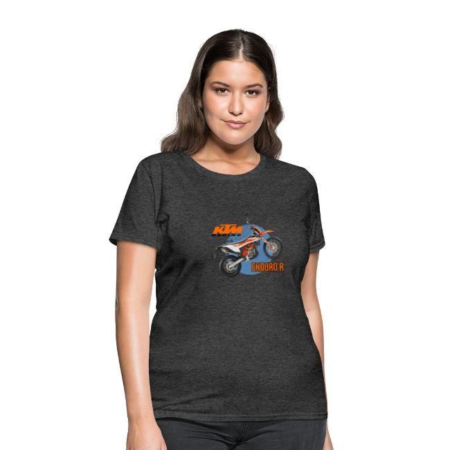 Ktm Enduro R Womens T Shirt Fun Prints T Shirts For Women Women Women Brands