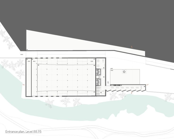 portugese architects ana rita vale and andre calvete propose the renovation of an industrial complex into a museum for textile production in riba de ave.