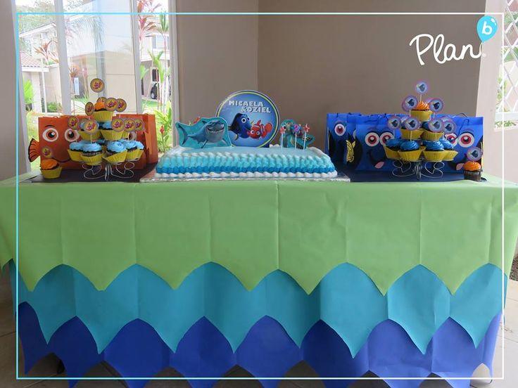 Nemo and dori party theme nuestro trabajo pinterest for Nemo decorations