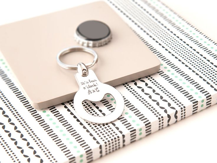 Personalised Bottle Opener Key Ring