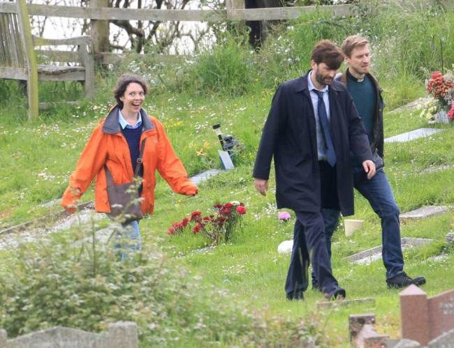 Broadchurch series 2 filming!!! Yeaaah!!!