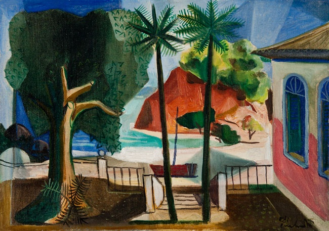 Paquetá, Rio de Janeiro, 1950 - Di Cavalcanti  (Emiliano Augusto Cavalcanti de Albuquerque e Melo), 1897-1976, Rio de Janeiro.