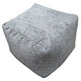Metropolis Plain Stone Bean Bag Cube | Departments | DIY at B&Q