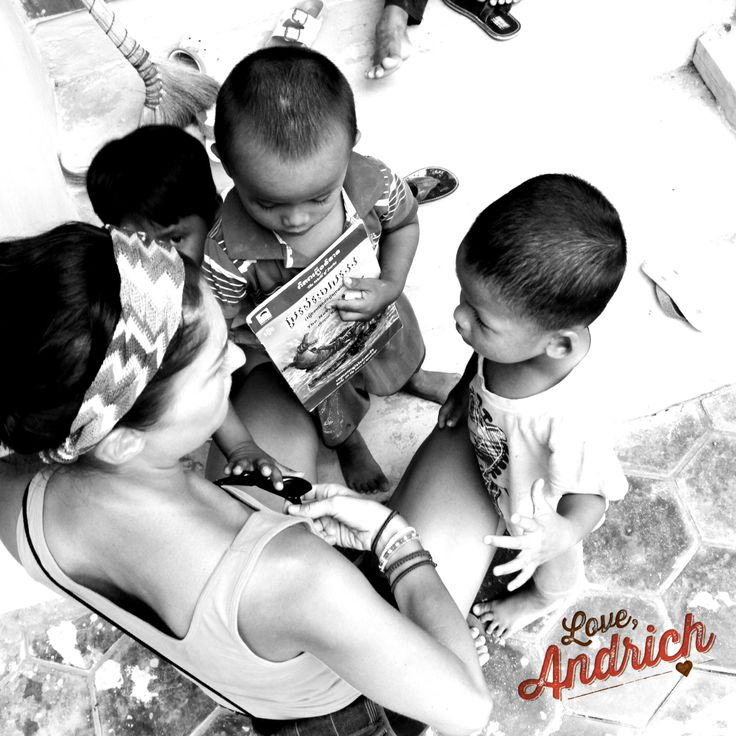 Spending quality time with these beautiful children at ACODO in Siem Reap. ~ #inspiration
