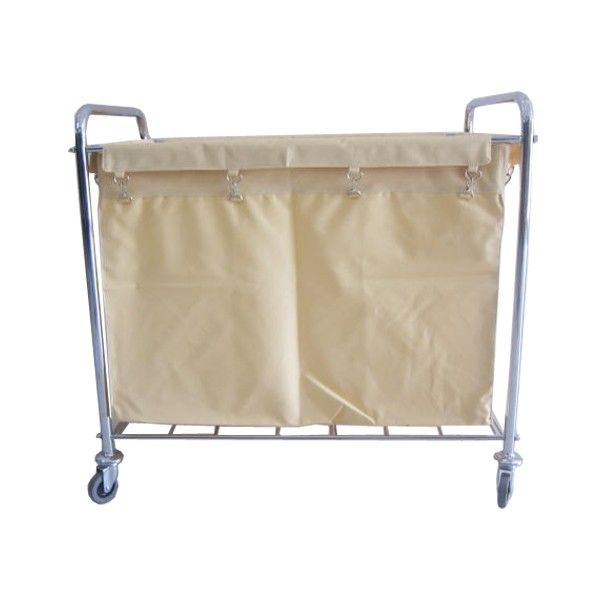 Laundry Cart Rectangle Stainless.  - Type		308KL-LCSS - Material	:	Stainless Trolley,  - product size 	:	92X56X89cm - Harga per unit.  http://alatcleaning123.com/janitorial-trolley/1646-laundry-cart-rectangle-stainless.html  #laundrycart #alatcleaning