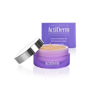 ActiDerm 3D Corrector Cream Sun kissed tint, £29.50. The perfect cream for this summer to reduce dark spots and instantly gives a healthy glow!