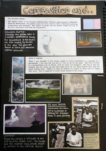 Stetchbook SBT (7) | Composition and Things to consider part… | Monks Dyke Tennyson College, Lincolnshire | Flickr