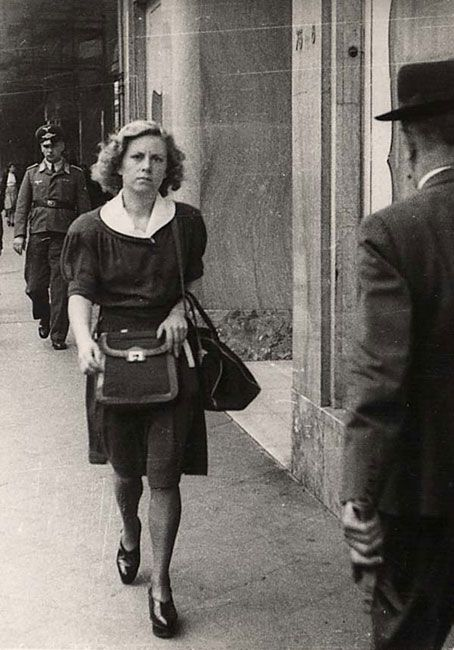 Andrée Geulen. Belgium.  The Belgian teacher who became the rescuer of hundreds of children.