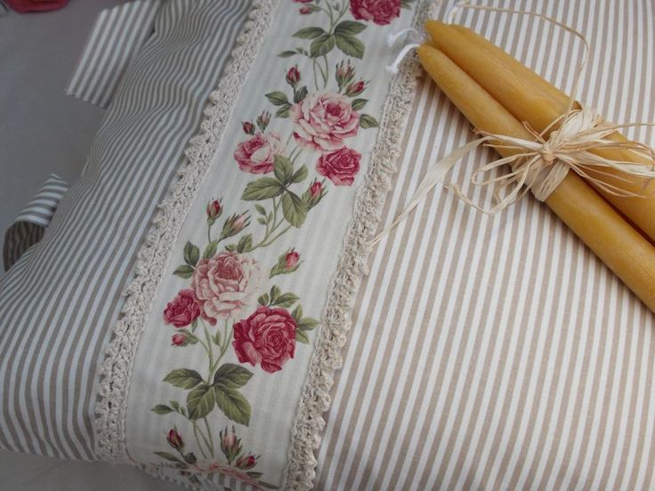 Úžitkový textil - Vankúš,Vankúšiky - Vidiecky Štýl, Čajová Ruža - 2104183