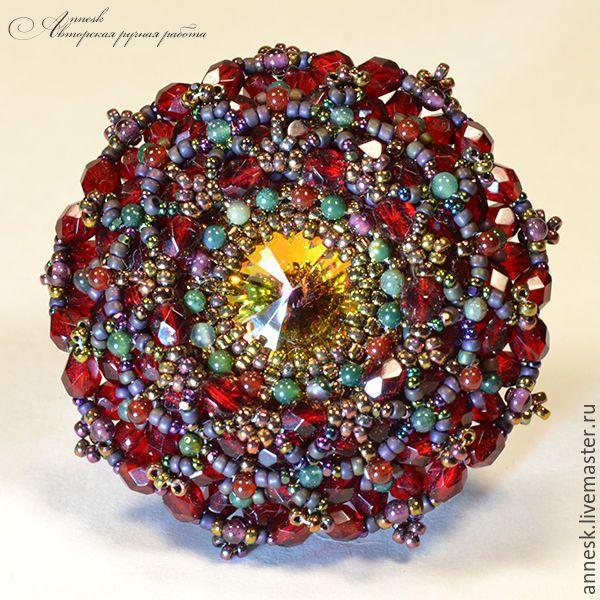 """Купить Брошь """"Венецианское стекло"""" - разноцветный, брошь, брошка, броши, авторская брошь, венеция, маскарад"""