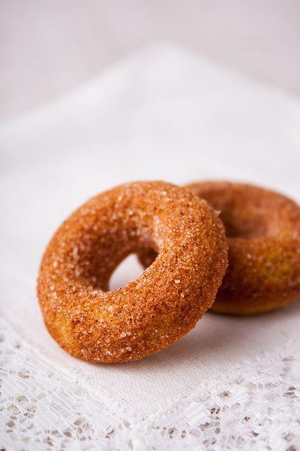 Тыквенные пончики и Смесь специй для ароматных пирогов