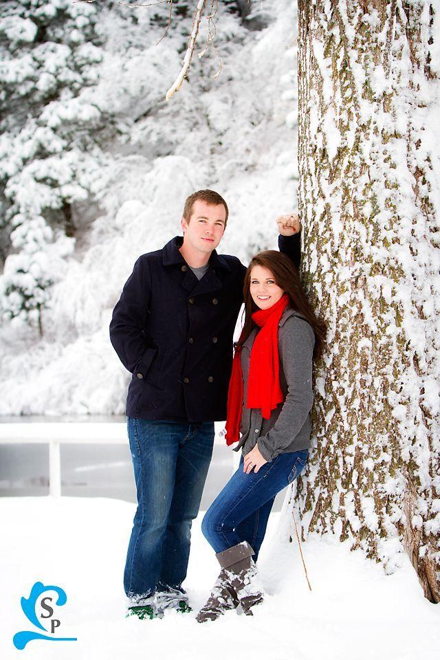 If it's still snowy out, I'd like to do just a casual photo like this ;)