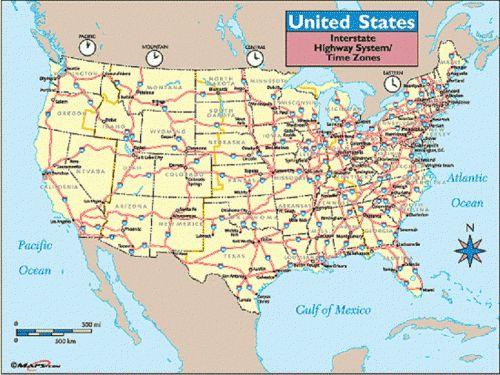 Best Interstate Highway Map Ideas Only On Pinterest Road - Us interstate map satellite