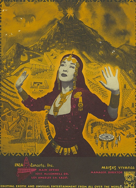 Yma Sumac Back, via Flickr.