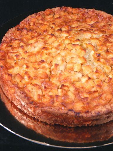 Gâteau aux pommes facile - Recette de cuisine Marmiton : une recette
