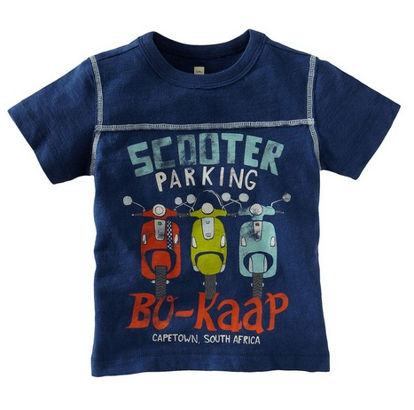 Wow, love this kids' Vespa scooter tee at Tea Collection!