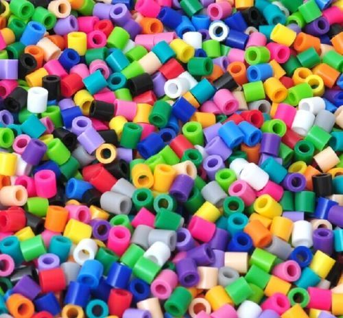Mixed-5mm-Funny-Perler-Beads-Hama-Fusion-Beads-Lot-of-1000-2000-5000-10000