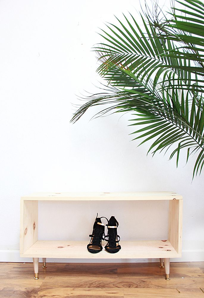 How to Make a Wooden Shoe Rack | DIY Ideas and Home Decor Inspiration | #MyWhiteMornings