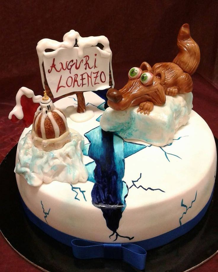 Torte di compleanno decorate per bambini torte di for Torta di compleanno per bambini