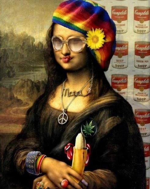 Stylish Monna lisa    via http://doppeediamond.tumblr.com/post/47429303673
