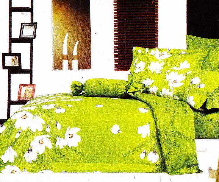 Motif hijaunya itu menarik bukan #sprei   cek aja di www.spreishop.com