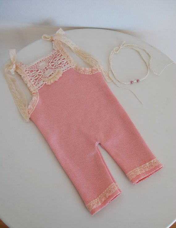 Hey, I found this really awesome Etsy listing at https://www.etsy.com/listing/186517761/newborn-romper-tieback-headband-newborn