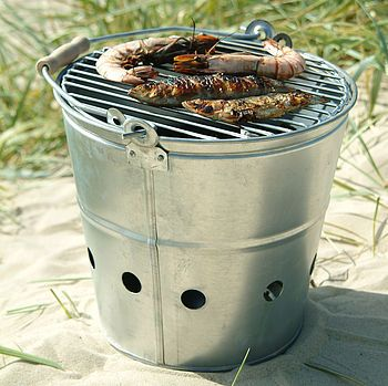 The perfect portable BBQ for camping or the beach